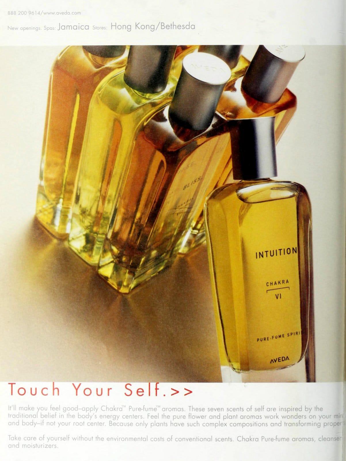 Chakra perfumes from Aveda (1997) at ClickAmericana com