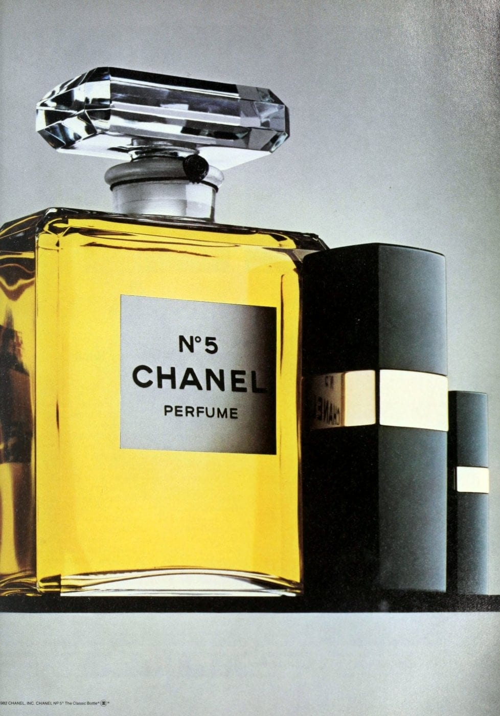 Chanel No 5 perfume - 1983