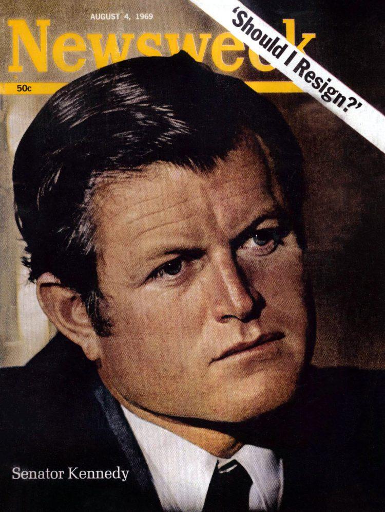 Chappaquiddick - Kennedy Newsweek magazine cover 1969