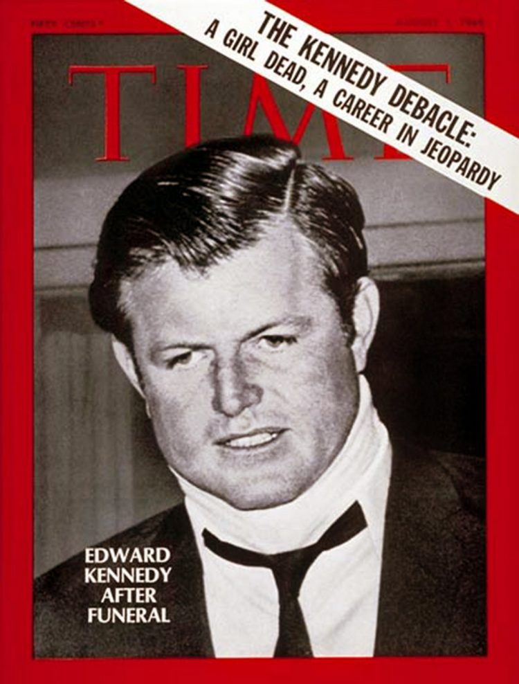 Chappaquiddick - Kennedy Time magazine cover 1969