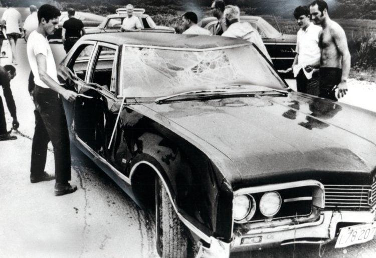 Chappaquiddick - Kennedy car 1969