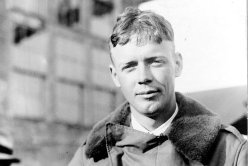 Charles A. Lindbergh, head-and-shoulders portrait 1927