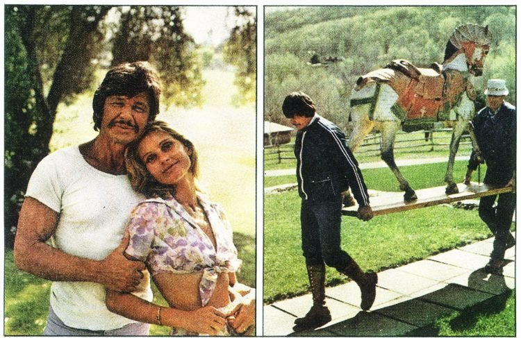 Charles Bronson home tour from 1975 (2)