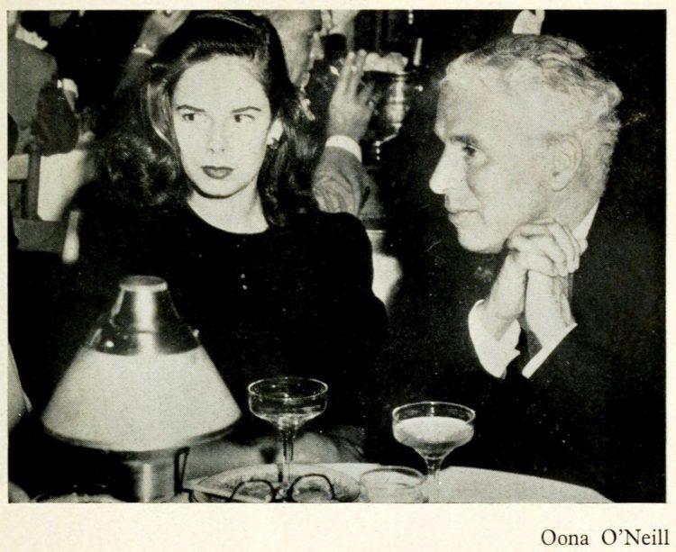 Charles Chaplin and fourth wife Oona Chaplin
