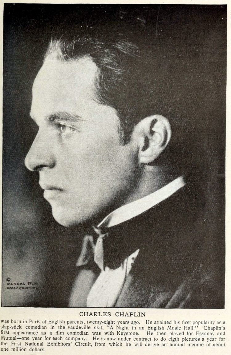 Charles Chaplin in 1918