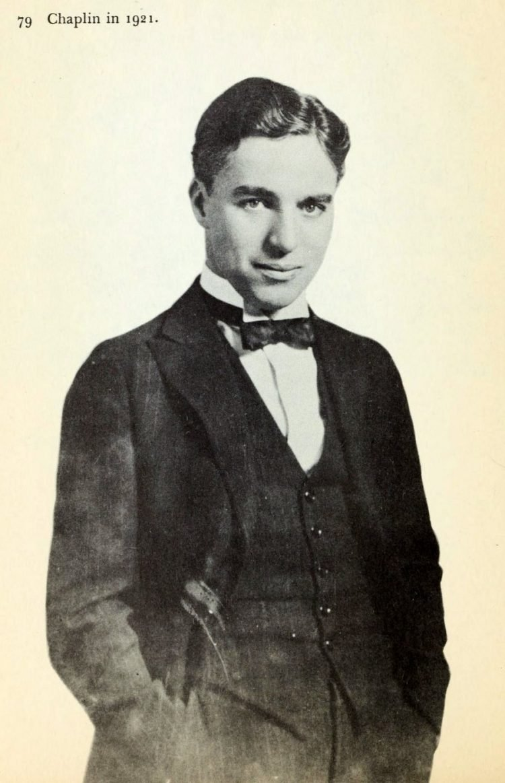 Charles Chaplin in 1921