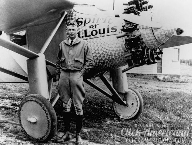 Charles Lindbergh's life story, to age 25 (1927)