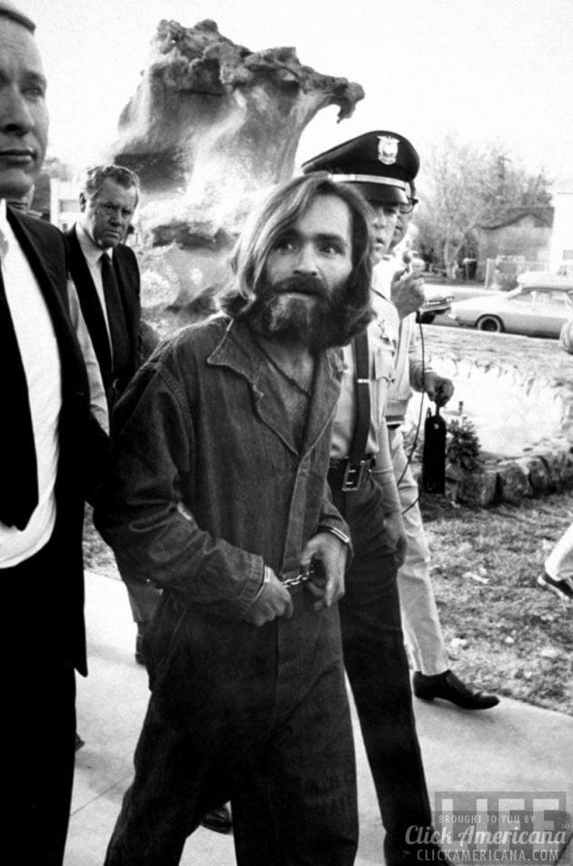 Charles Manson 1969 Arrest