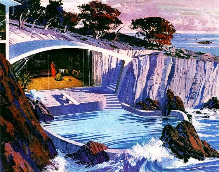 Charles Schridde - Ultra modern sea house