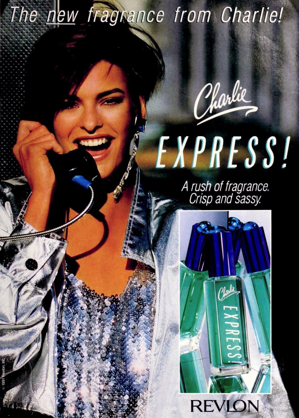 Charlie Express vintage fragrance from Revlon (1991) at ClickAmericana.com