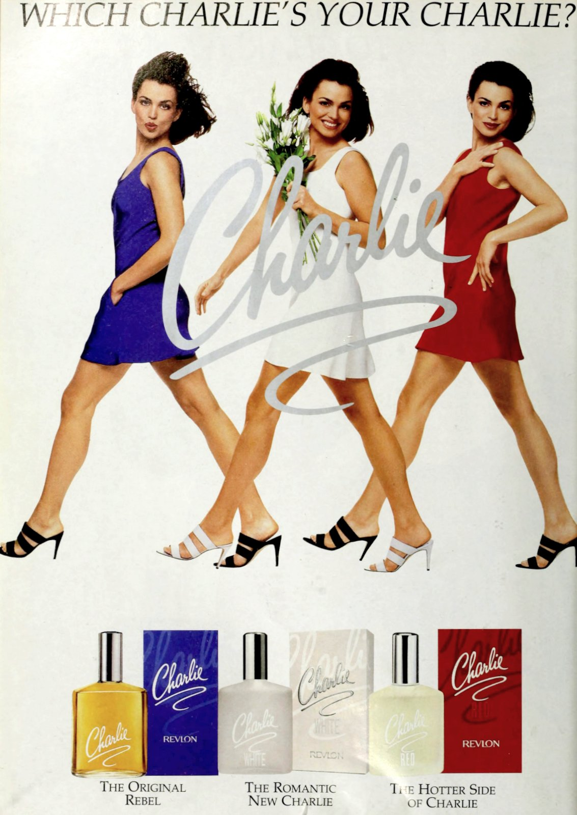 Charlie vintage perfume from Revlon (1995) at ClickAmericana com