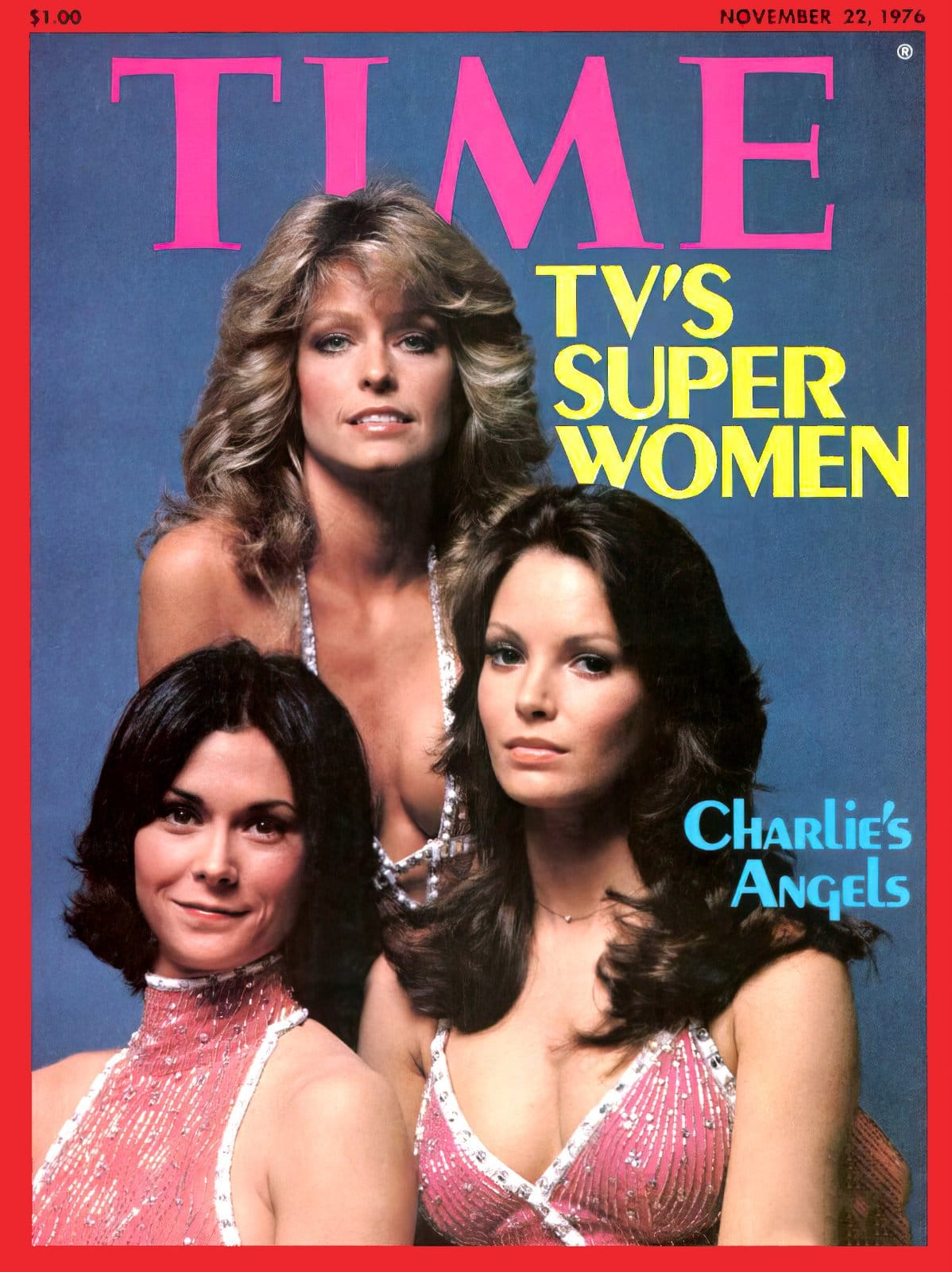 Charlie's Angels - Time magazine cover (1976)