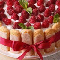 Quick Charlotte russe dessert