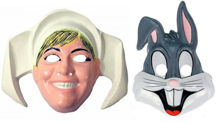 Cheap vintage Halloween masks (1)