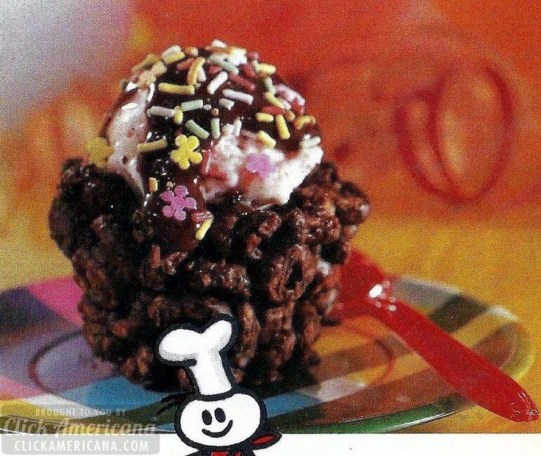 Cheeriodle chocolate ice-cream cups recipe