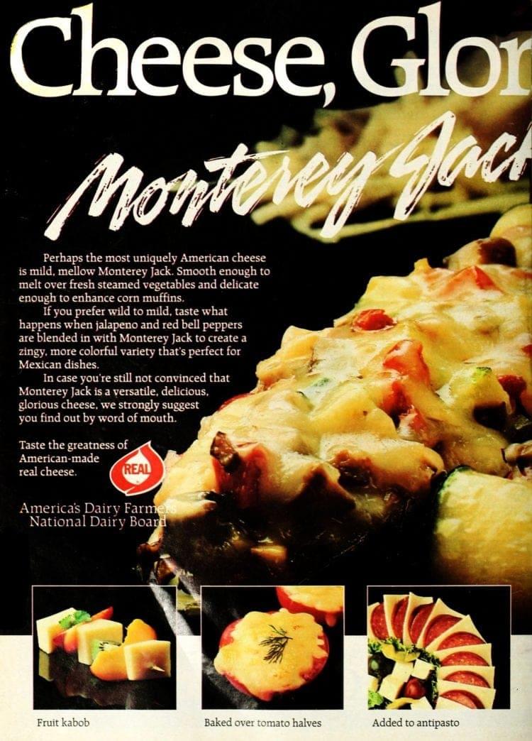 Cheesy stuffed zucchini recipe (1986)