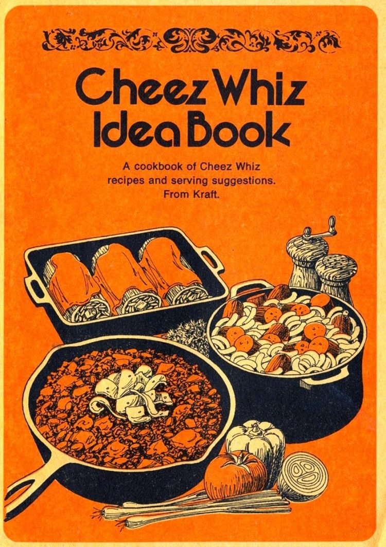 Cheez Whiz Idea Book recipe book 1974 (2)