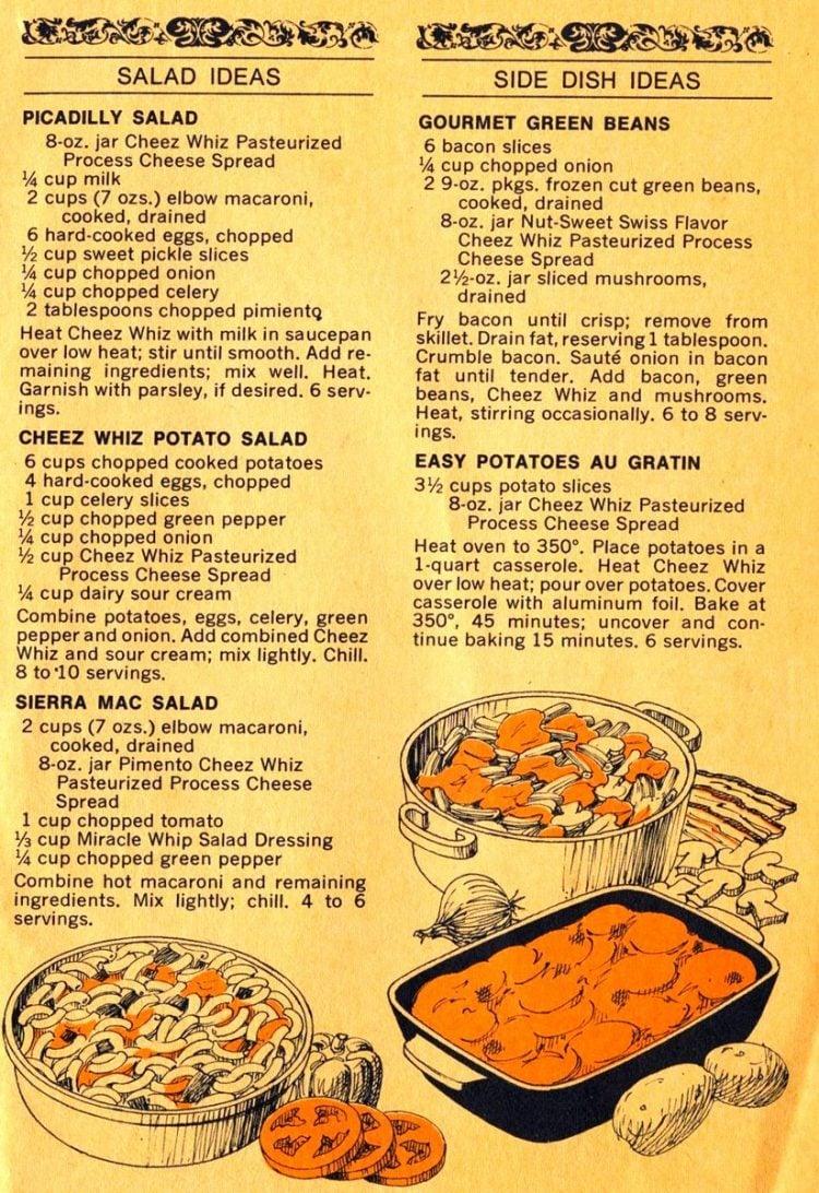 Cheez Whiz Idea Book recipe book 1974 (4)