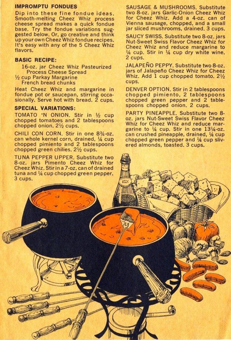 Cheeze Whiz Idea Book recipe book 1974 (8)