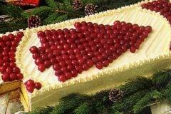 Cherry Christmas tree cake vintage recipe (2)