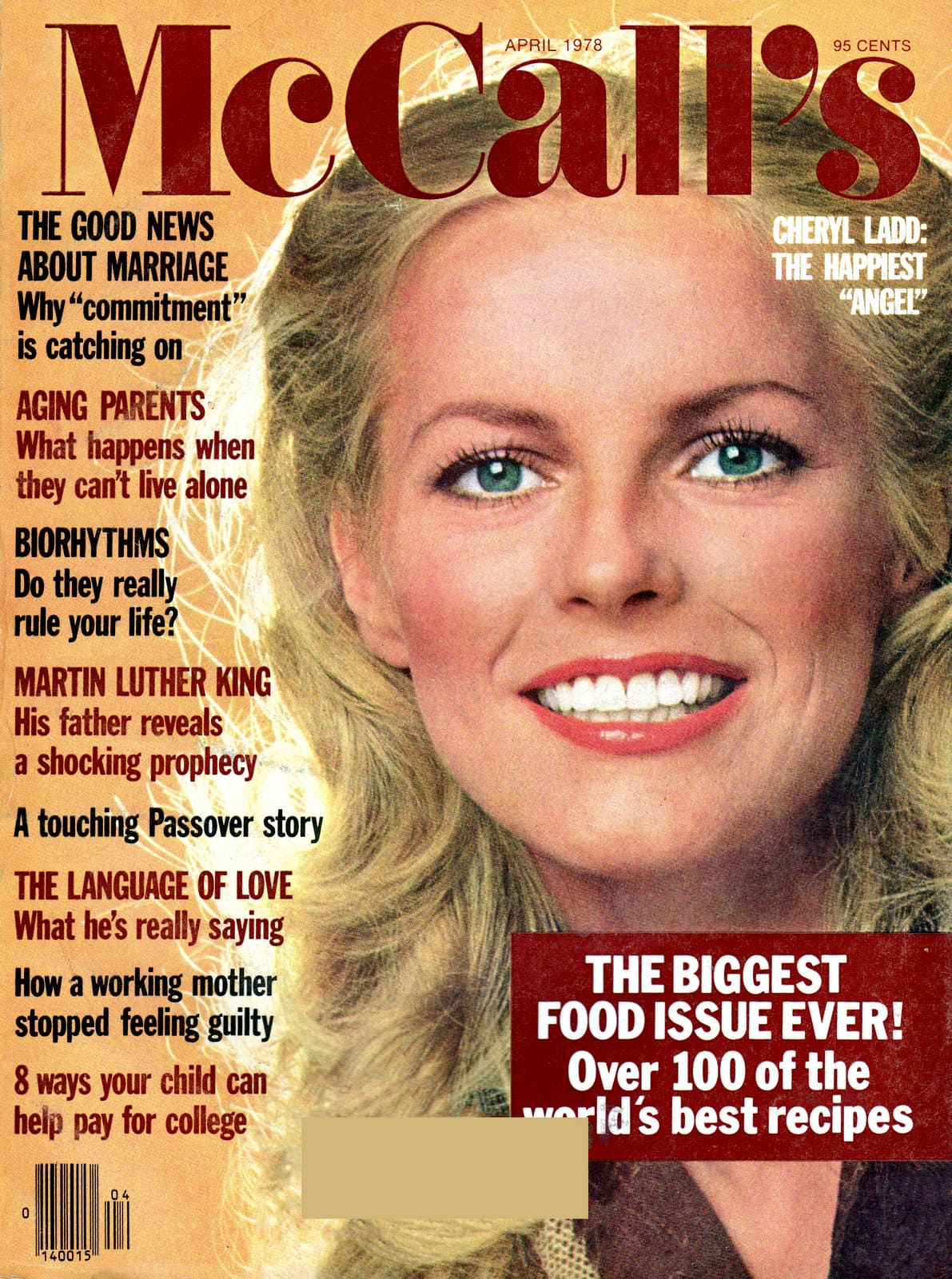 Cheryl Ladd - McCalls magazine cover (1978)