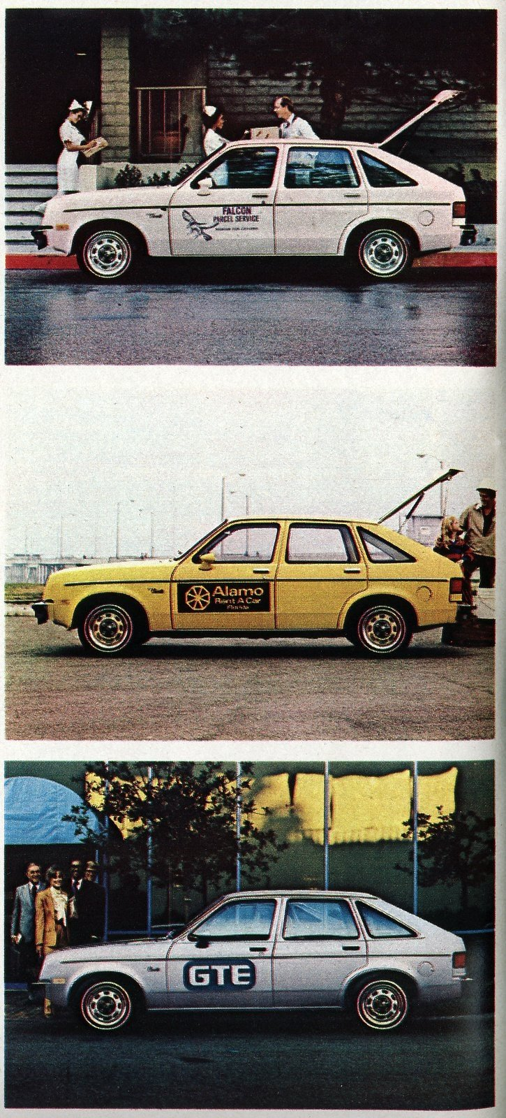 Chevrolet Chevette fleet cars from 1980 (1)