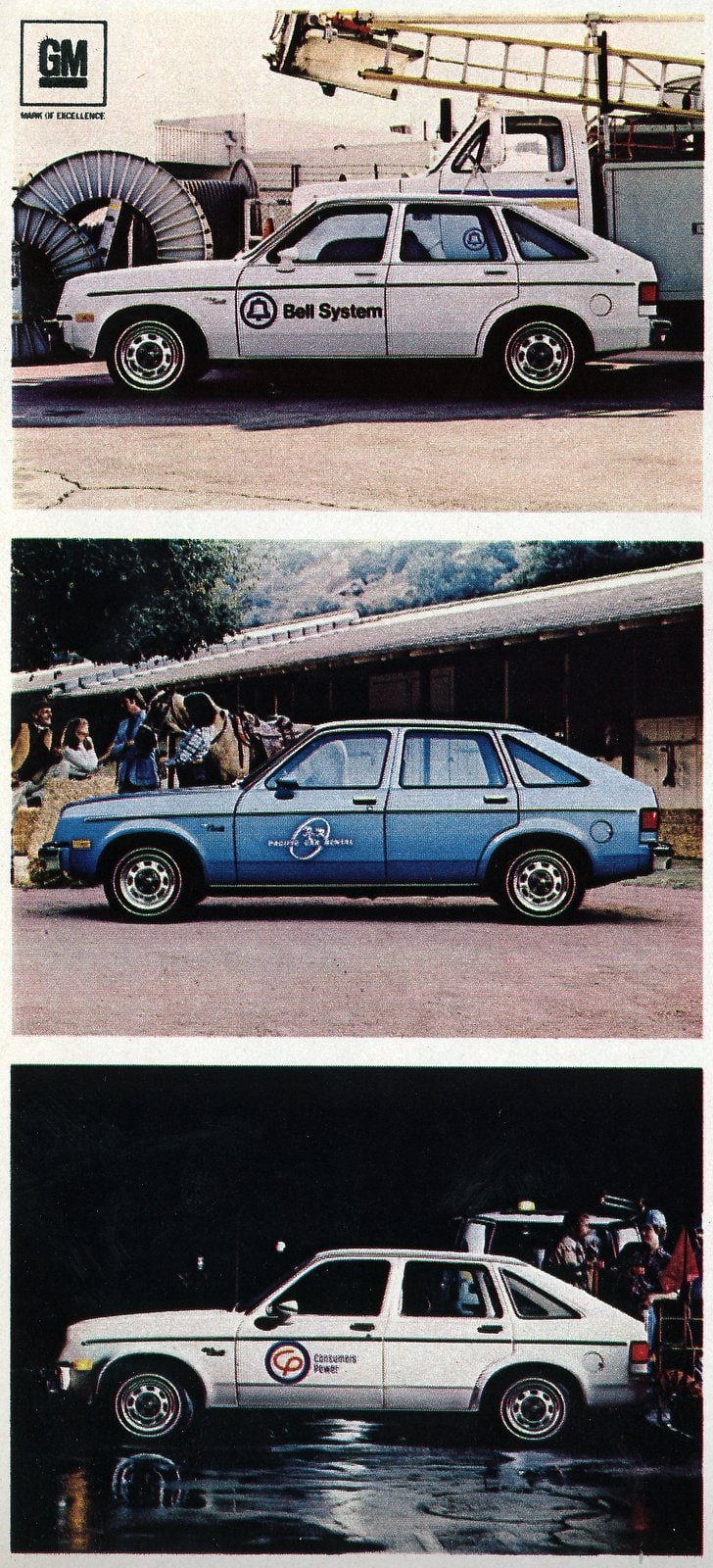 Chevrolet Chevette fleet cars from 1980 (2)