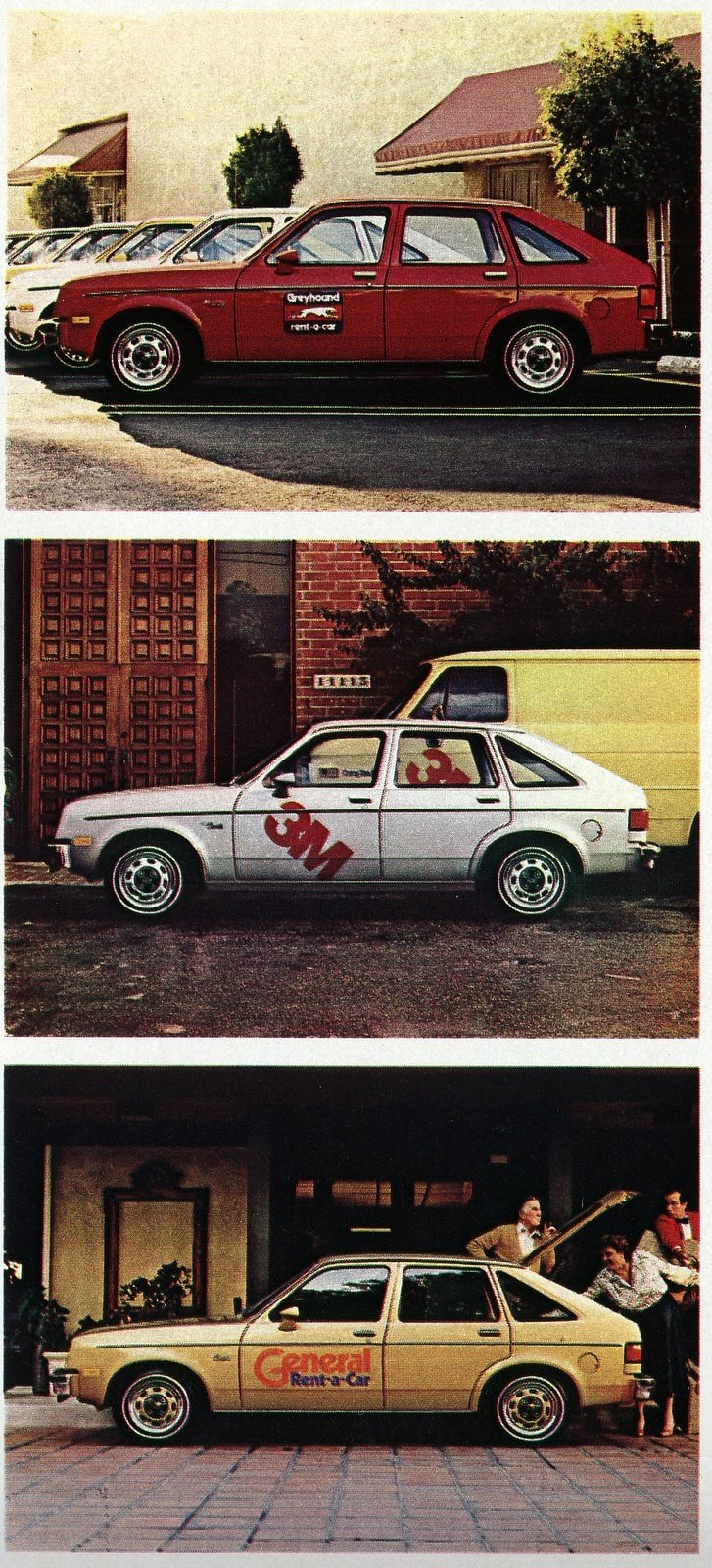 Chevrolet Chevette fleet cars from 1980 (3)