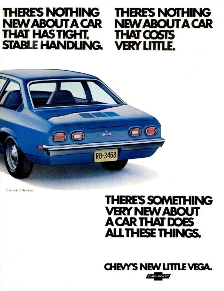 Chevrolet Vega from Sep 18, 1970