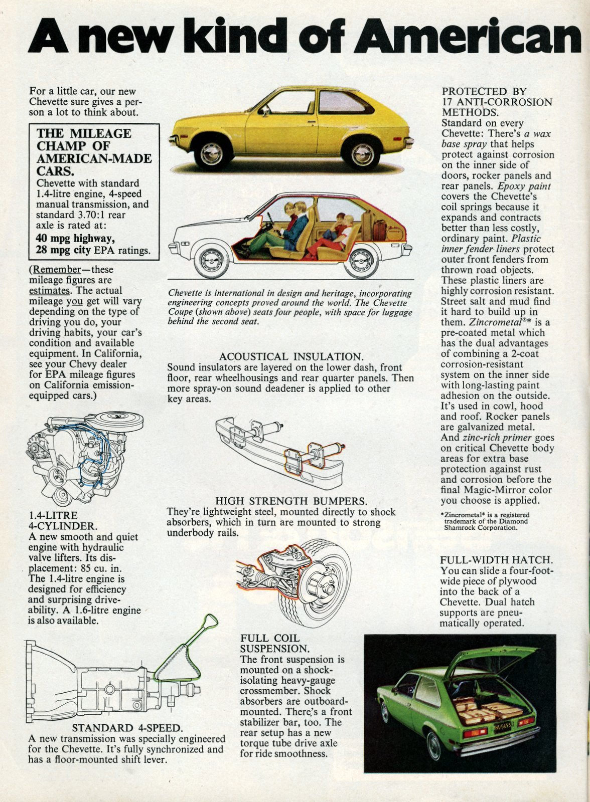 Chevy Chevette - A new kind of American car worth looking into - January 1976 (2)