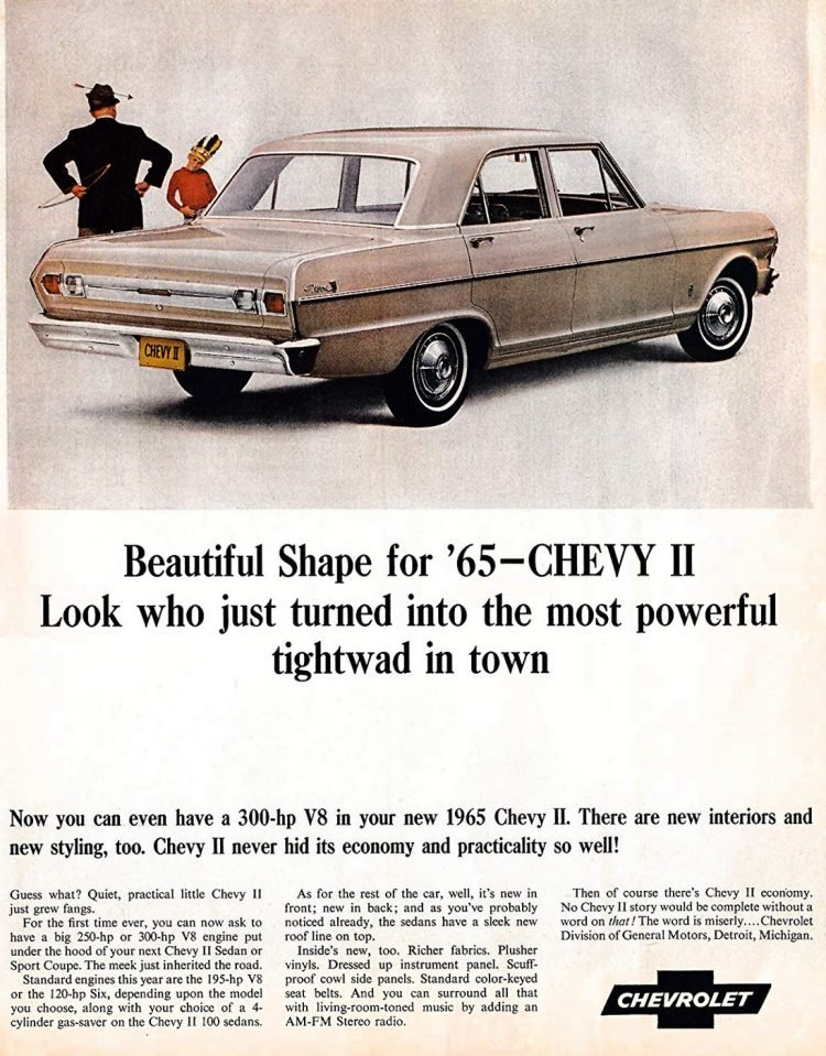 Chevy II for 1965 - Classic cars