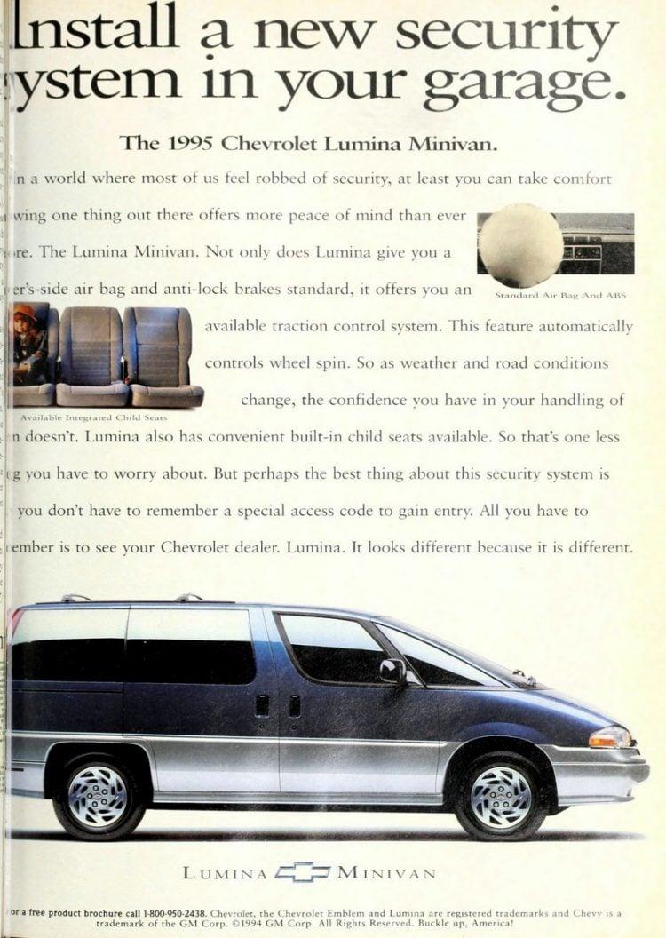 Chevy Lumina minivan 1995