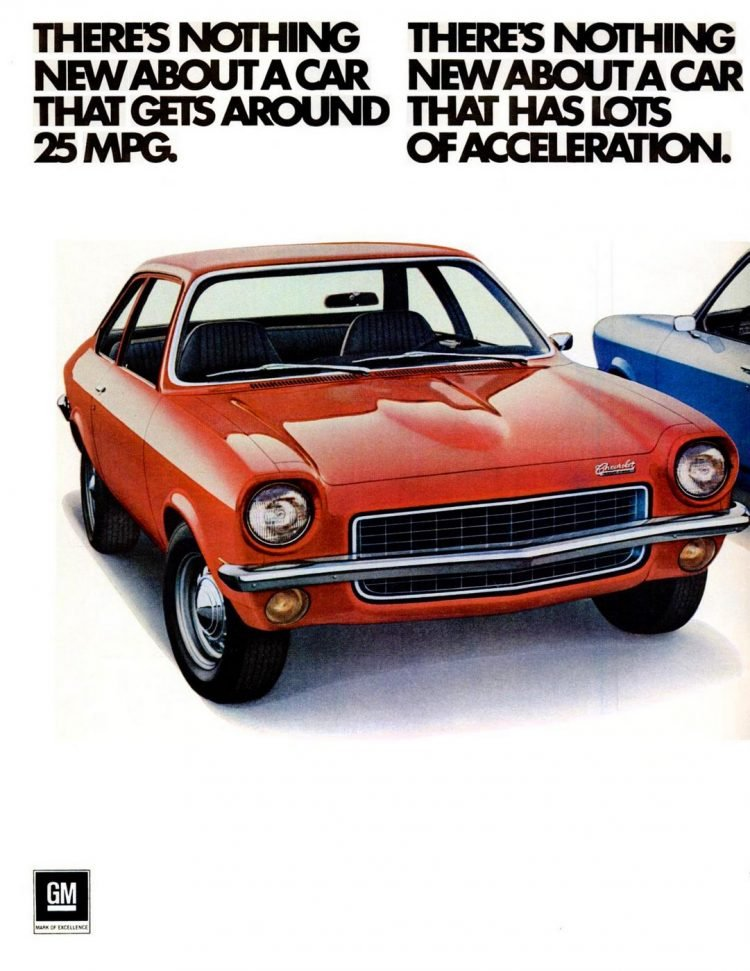 Chevy's new little Vega - Sep 18, 1970