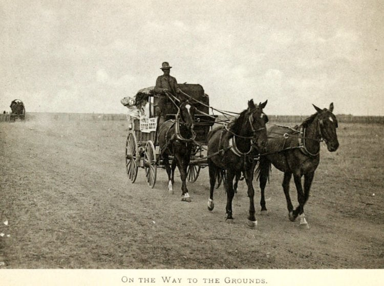 See the fun from Cheyenne's Frontier Days: Wyoming's old Wild West festival (1897-1902)