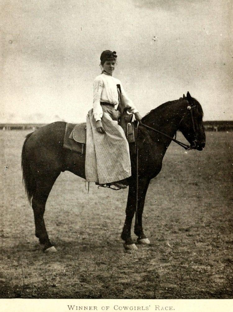 Winner of Cowgirls' Race