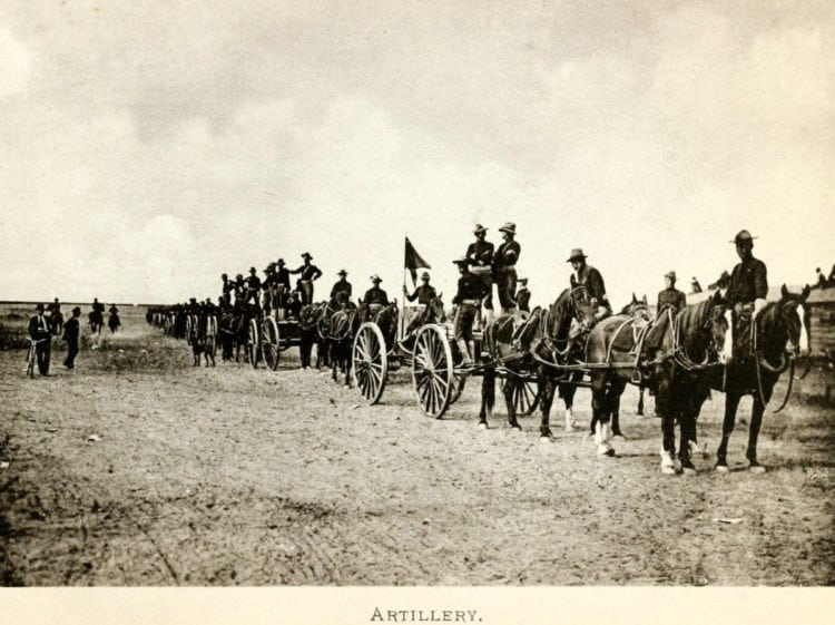 Wyoming's old Wild West festival artillery