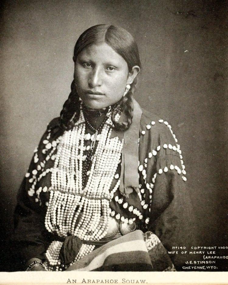 Wife of Henry Lee (Arapahoe)