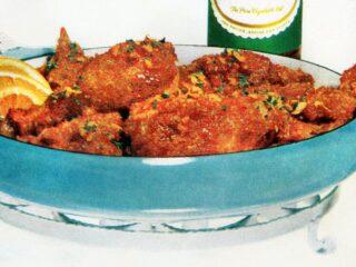 Chicken a l'orange vintage recipe 1961