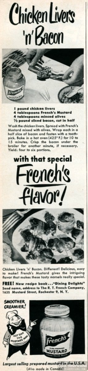 Chicken livers 'n' bacon (1950)