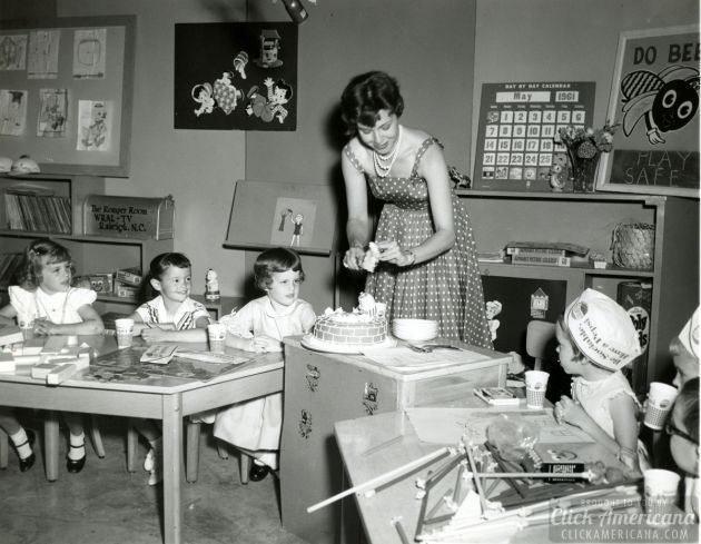 Children Romper Room teacher Jo Ann Federspiel