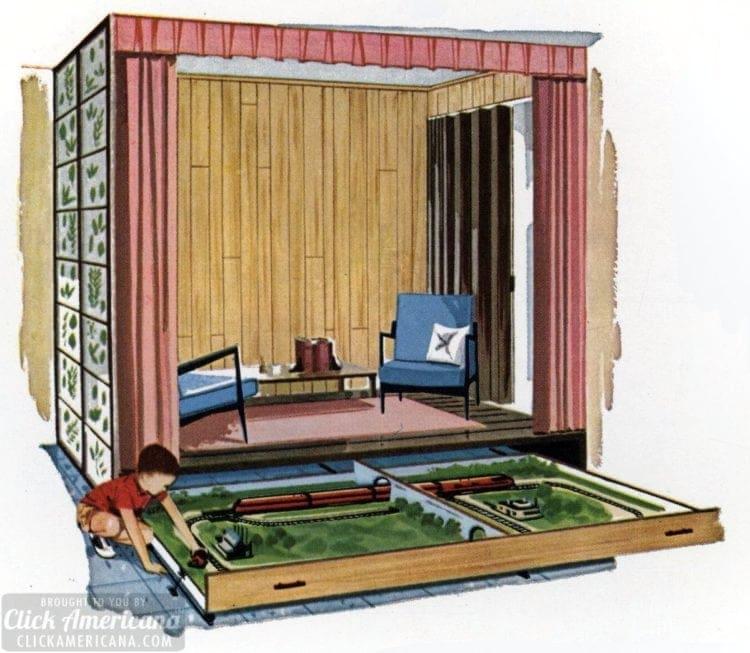 How to make a children's activity center (1961)