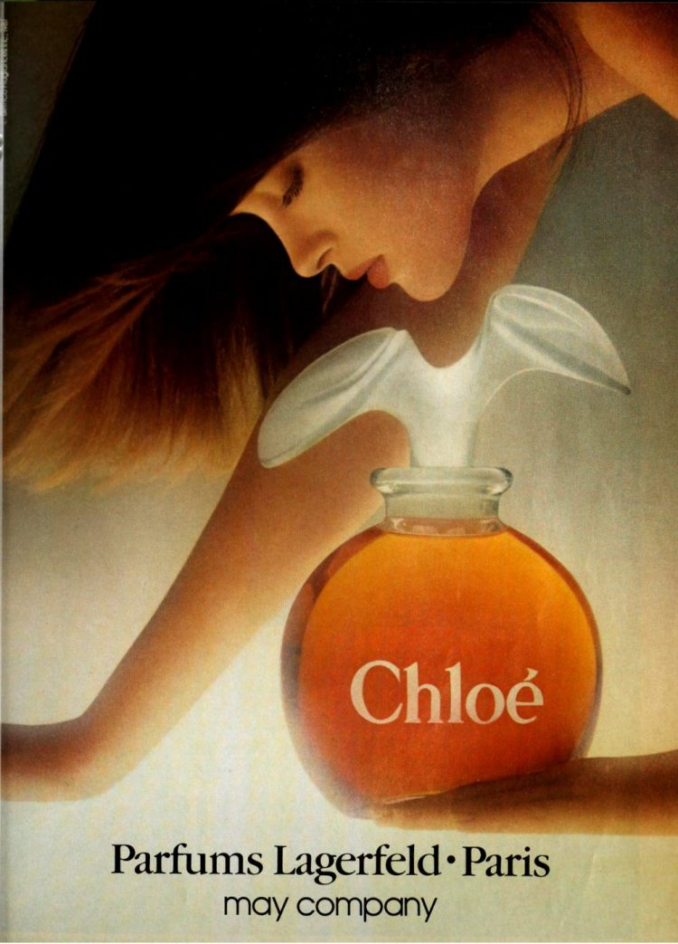 Chloe - Parfums Lagerfeld - 1987