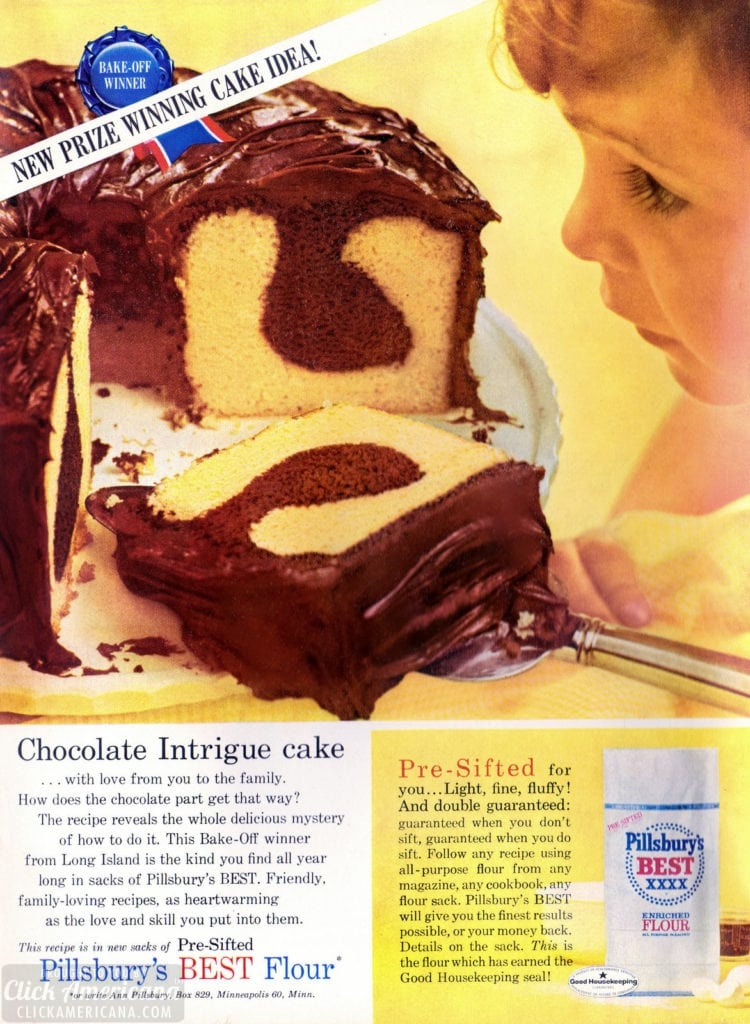 Chocolate Intrigue cake recipe The delicious Bake-Off winning pound cake recipe from 1962