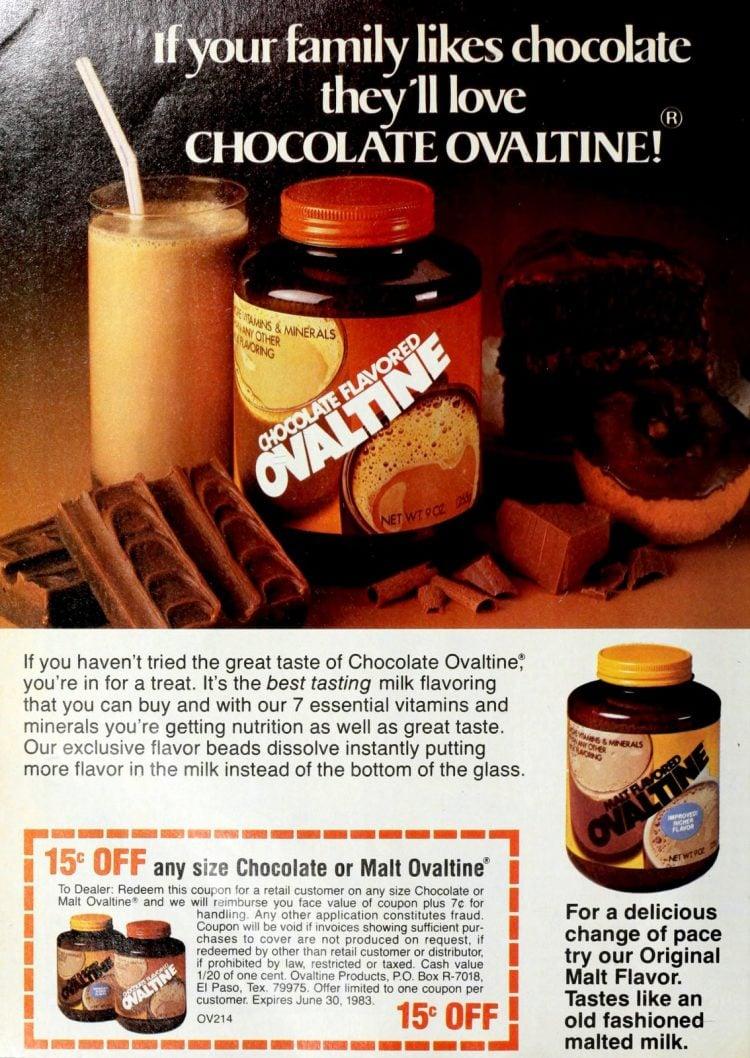 Chocolate Ovaltine (1982)