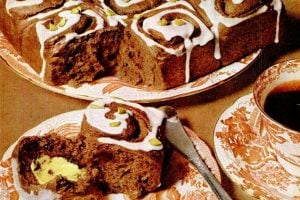 Chocolate cinnamon buns classic recipe