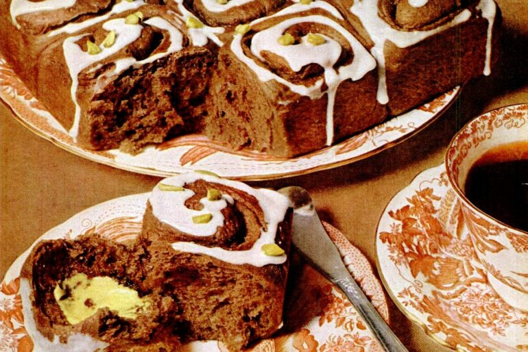 Chocolate cinnamon buns classic recipe