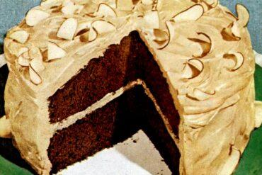 Chocolate rhapsody cake recipe (1949)