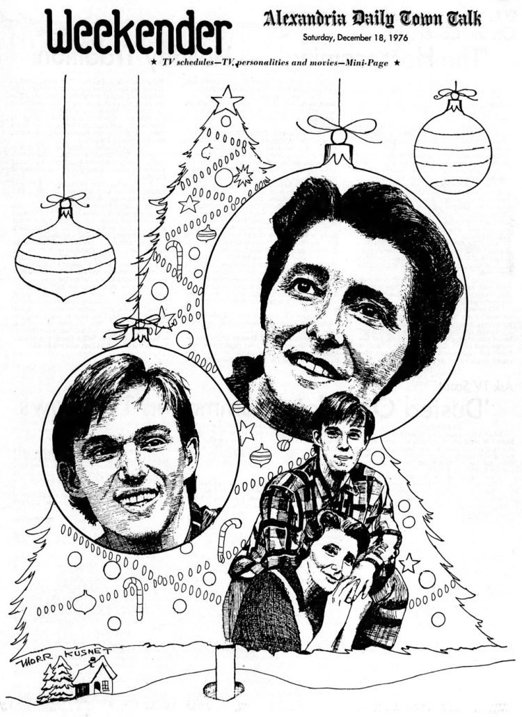 Christmas 1976 Waltons TV special