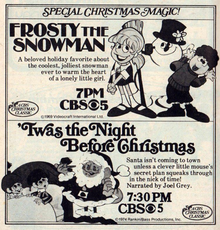 Christmas TV specials