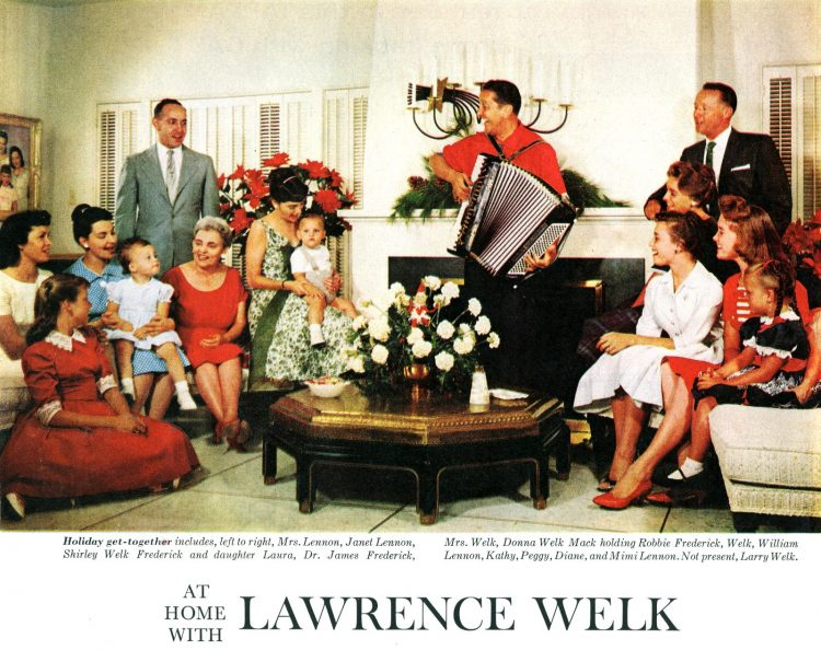 Christmas at home with Lawrence Welk (1960)